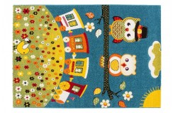 Dywan Lalee AMIGO AMI 315 blue 100% PP Handcarved dla dzieci