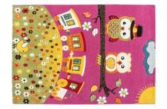 Dywan Lalee AMIGO AMI 315 pink 100% PP Handcarved dla dzieci