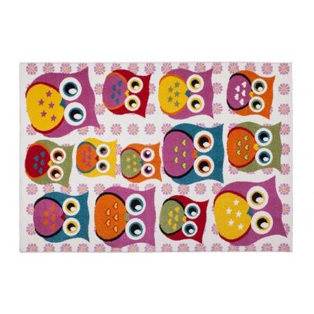 Dywan Lalee Amigo Ami 320 Rainbow 100 Pp Handcarved Dla Dzieci