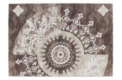 Dywan Lalee AURA ARA 776 silver 70% PP 30% Akryl efekty 3d nowoczesny