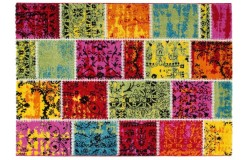 Dywan Obsession Home Fashion WAIKIKI 383 Multi kolorowy nowoczesny dla dzieci PATCHWORK
