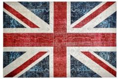 Dywan Obsession Home Fashion TORINO FLAGS 422 UNION JACK kolorowy flaga brytyjska miękki poliester chenille