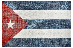 Dywan Obsession Home Fashion TORINO FLAGS 421 CUBA kolorowy flaga Kuby miękki poliester chenille