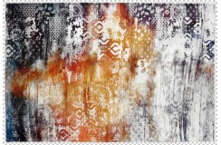 Dywan Obsession Home Fashion TORINO 370 MULTI kolorowy vintage miękki poliester chenille