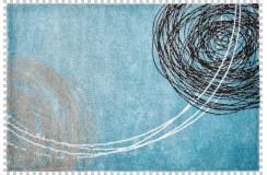 Dywan Obsession SOHO 842 OCEAN niebieski kolorowy nowoczesny