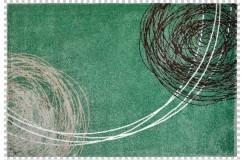 Dywan Obsession Soho 842 JADE zielony kolorowy nowoczesny