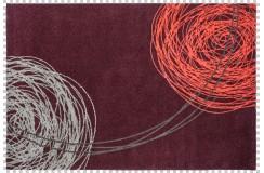 Dywan Obsession Soho 842 AUBERGINE fioletowy kolorowy nowoczesny