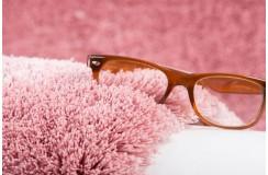 Dywan Obsession Home Fashion SANSIBAR SANZEE 650 POWDERPINK miękki shaggy różowy skręcany poliester