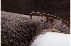 Dywan Obsession Home Fashion SANSIBAR SANZEE 650 MOCCA miękki shaggy brąz skręcany poliester