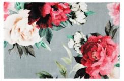 Dywany nowoczesne Obsession Home Fashion ROMANCE 210 SILVER sztuczne futerko soft poliester szary kolorowy kwiatowy design