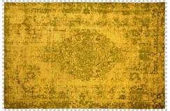 Dywan Obsession Home Fashion MILANO 572 GINGER żółty zielony perski wzór vintage miękki poliester chenille