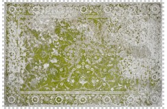 Dywan Obsession Home Fashion MILANO 573 GREEN kolorowy perski wzór vintage miękki poliester chenille