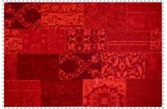 Dywan Obsession Home Fashion MILANO 571 RED czerwony perski wzór vintage patchwork miękki poliester chenille