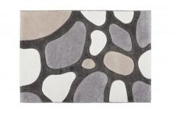 Dywan Obsession MIAMI 191 TAUPE szaro brązowy nowoczesny kamienie ręczny carving