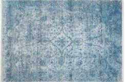 Dywan Obsession Home Fashion LAOS 454 blue perski wzór vintage miękki poliester loft design