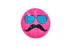 Dywan Obsession HIPSTER 611 PINK ROUND dla dzieci nowoczesny polipropylen różowy okrągły