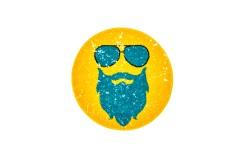 Dywan Obsession HIPSTER 612 GINGER ROUND dla dzieci nowoczesny polipropylen żółty okrągły