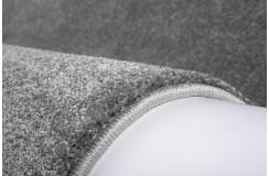 Dywan Obsession HAMPTON 710 SILVER nowoczesny polipropylen 2cm gruby ciężki jednokolorowy