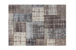 Dywan Obsession Home Fashion Gent GEN 751 Silver szary perski wzór vintage patchwork miękki poliester bawełna