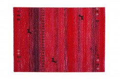 Dywan Obsession Home Fashion GABBEH 412 RUBY czerwony perski wzór polipropylen