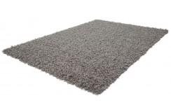 Dywan Obsession FUNKY 300 SILVER nowoczesny polipropylen 5cm gruby shaggy jednobarwny