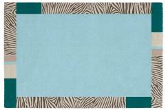 Dywan Obsession BROADWAY 283 OCEAN nowoczesny szary niebieski polipropylen