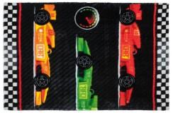 Dywany nowoczesne Obsession Kids Fashion LOLLIPOP 183 RACE sztuczne futerko soft poliester wyścigówki dla chłopca