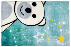 Dywany nowoczesne Obsession Kids Fashion LOLLIPOP 182 BEAR sztuczne futerko soft poliester misio dla chłopca