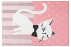 Dywany nowoczesne Obsession Kids Fashion LOLLIPOP 180 KITTEN sztuczne futerko soft poliester kotek dla dziewczynki