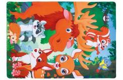Dywany nowoczesne Obsession Kids Fashion FAIRY TALE 635 FOREST flanelowy poliester miękki dla alergików zwierzęta