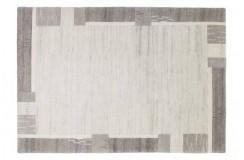 Dywan Lalee GOA 950 grey wełniany wysokiej jakości jedwabne wzory