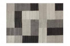 Dywan Lalee GOA 952 grey wełniany wysokiej jakości jedwabne wzory