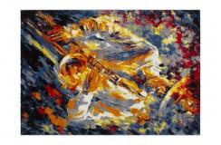 Nowoczesny obrazkowy dywan Lalee Artworks 301 multi