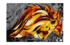 Nowoczesny obrazkowy dywan Lalee Artworks 305 multi
