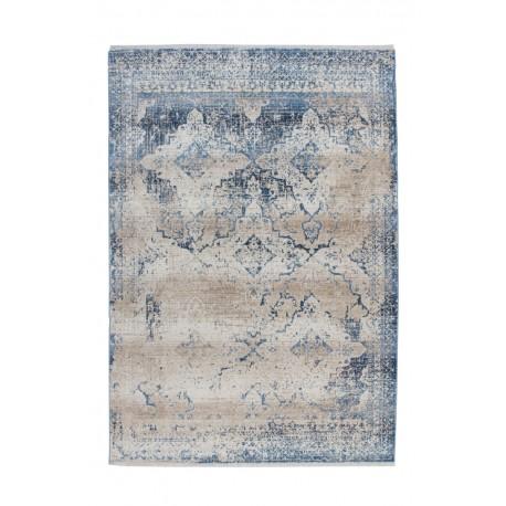 Dywan Antigua 500 Creme / Blau 80cm x 150cm poliester
