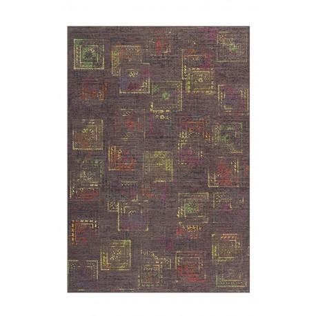 Dywan Atelier 4477 Multi / Grau 70cm x 140cm miękki poliester chenille design