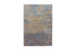 Dywan Blaze 600 Blau / Beige 115cm x 170cm żakardowy wytrzymały vintage