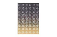 Dywan Flash 2706 Grau / Gelb 80x150cm kolorowy poliester szenil