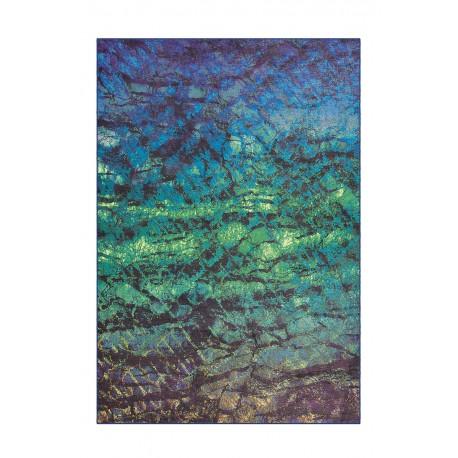 Dywan Flash 2709 Türkis 80x150cm kolorowy poliester szenil