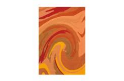 Dywan Joy 4018 Orange 70x140cm nowoczesny design akryl