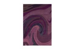 Dywan Joy 4018 Violett 70x140cm nowoczesny design akryl