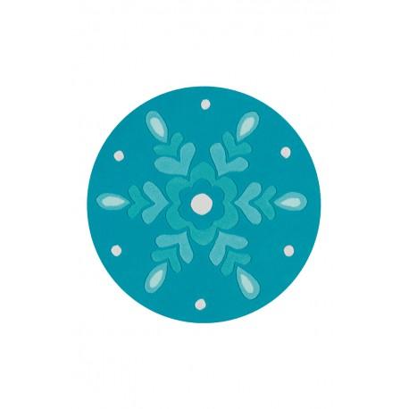 Dywan Joy 4186 Eisblau Ø 100cm RUND okrągły dla dzieci
