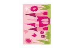 Dywan Arte Espina Joy 4191 Pink Castle 90x150cm nowoczesny design akryl