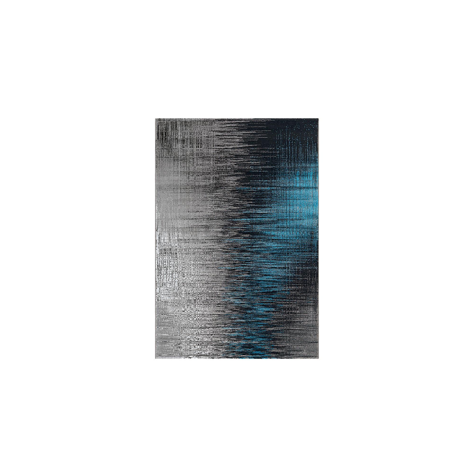Dywan Arte Espina Move 4453 Grau Blau 240x300cm Polipropylen Design Abstrakcyjny