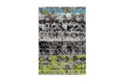 Dywan Arte Espina Move 4454 Grau / Grün / Blau 120x170cm polipropylen design abstrakcyjny
