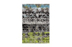 Dywan Arte Espina Move 4454 Grau / Grün / Blau 130x190cm polipropylen design abstrakcyjny