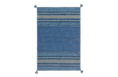 Dywan Arte Espina kilim Navarro 2915 Blau 120cm x 170cm