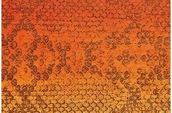 Dywan Flash 2708 Orange 80x150cm kolorowy poliester szenil