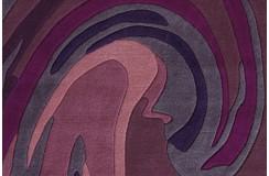 Dywan Joy 4018 Violett 200x300cm nowoczesny design akryl