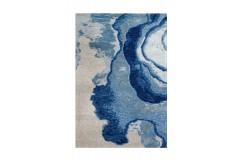 Dywan Arte Espina Damast 100 Blau / Grau 120x180cm tafting wiskoza wełna